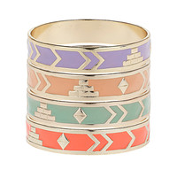 Zig Zag Enamel Bangles - Jewelry - Accessories - Topshop USA
