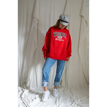Vintage Wisconsin Badgers Sweatshirt