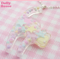 Pastel Miracle Cat Necklace by Dolly House