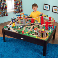 KidKraft Airport Express Train Set and Table - 17976