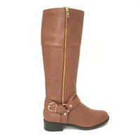 Stand Your Ground Boots In Cognac Brown