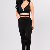 Midnight Jumpsuit - Black