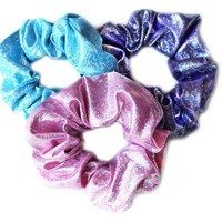 Glitter Girl Scrunchies