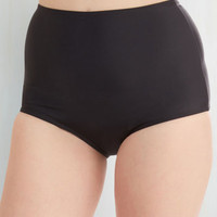 ModCloth Pinup High Waist Pool Intentions Swimsuit Bottom