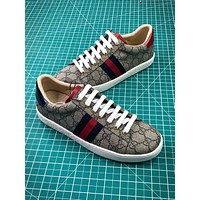 Gucci Ace Embroidered Low Top Sneakers Style 7