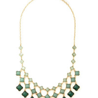 ModCloth Statement Commissioned Artwork Necklace