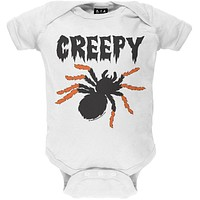Halloween Creepy Spider Baby One Piece