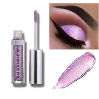 Waterproof Eyes Makeup Long Lasting Magnificent Metals Glitter And Glow Liquid Eye Shadow For Party
