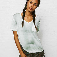 Don't Ask Why Boxy Pocket T-Shirt, Olive