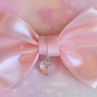 Celestial Heart - Satin bow for Classic and Sweet Lolita.