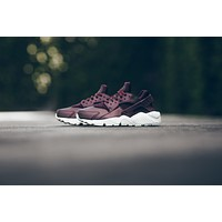 WMNS Nike Air Huarache Run PRM TXT - Metallic Mahogany