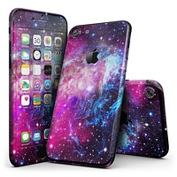 Bright Trippy Space - 4-Piece Skin Kit for the iPhone 7 or 7 Plus