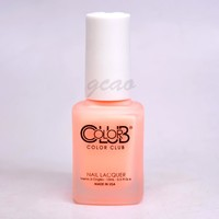 Color Club Nail Polish Matte 0.5 oz NR26 SCHOOLYARD CRUSH