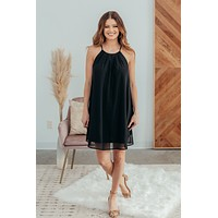 Perfect Solution Dress- Black