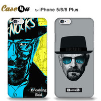 BREAKING BAD Case Cover For fundas iPhone 5 5S 6 6s Plus HEISENBERG Man's Case