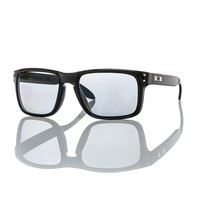 NEW Authentic Oakley Polarised Sunglasses HOLBROOK OO 9102-02 Black Grey