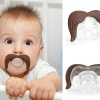THE COWBOY STACHIFIER - Moustache Pacifier