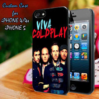 Cover Viva COLDPLAY Beautiful Case-iPhone 4/4S Case, iPhone 5 Case cover Plastic