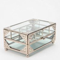 Urban Outfitters - Glass Jewelry Box