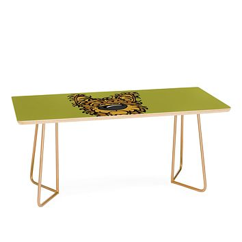 Angry Squirrel Studio Yorkshire Terrier 38 Coffee Table