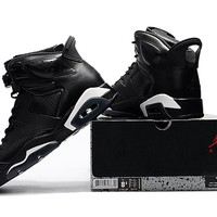 Air Jordan Retro 6 black ca Men Basketball Shoes retro 6s sneakers shoes