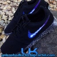 Galaxy Roshe Run Nike Customs