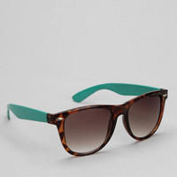 Urban Outfitters - Oversized Colorblock Risky Sunglasses