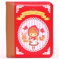 kawaii red fairy tale Little Red Riding Hood wallet  - Wallets - Accessories