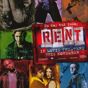 Rent 11x17 Movie Poster (2005)