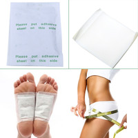 100pcs Adhesives Detox Foot Patch Chinese Medicine Patches Pads Improve Sleep Beauty Slimming Patch