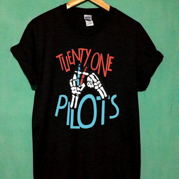 twenty one pilots shirt twenty one pilots tshirt twenty one pilots t shirt twenty one pilots tank joseph 88 back print new size S,M,L,XL