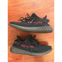 Men's Yeezy Boost 350 V2 Bred Size 13 12.5 12 Black Red NMD Ultra Boost