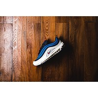 AA KUYOU Nike Air Max 97 SE - Obsidian/Sail/Blue Nebula/University Red