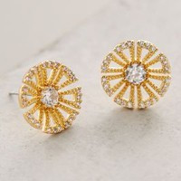 Snowpetal Posts by Anthropologie in Gold Size: One Size Earrings