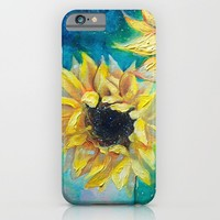 Supermassive Sunflowers iPhone & iPod Case by Tanya Shatseva