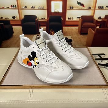 Gucci2021 Men Fashion Boots fashionable Casual leather Breathable Sneakers Running Shoes06160dp