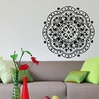Wall Vinyl Sticker Decal Art Design Indian Ornament Room Nice Picture Decor Hall Wall Chu276