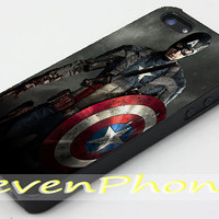 Captain America available for iPhone 4/4s/5/5c/5s Case and Samsung Galaxy S3/S4/S5 Case