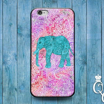 iPhone 4 4s 5 5s 5c 6 6s plus + iPod Touch 4th 5th 6th Generation Cute Animal Cover Cool Pink Purple Teal Green Elephant Pretty Phone Case