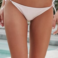 LA Hearts Shine Tie Side Skimpy Bikini Bottom at PacSun.com