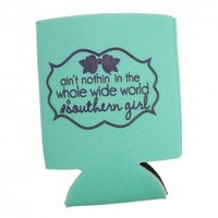 Southern Girl Koozie [GFT1529001] - $5.00 : HandPicked | Jewelry, Monogram, Embroidery & Gifts | Free shipping on orders over $75
