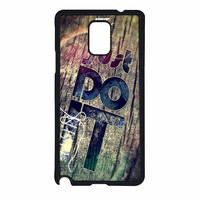 Nike Just Do It Wood Samsung Galaxy Note 4 Case