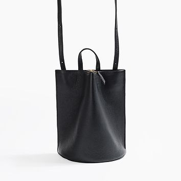 The Common Knowledge Pinch Convertible Bag in Black for Poketo