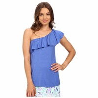Women's Lilly Pulitzer Women's Neveah Top Iris Blue T-Shirt