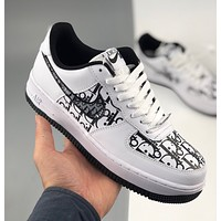 Nike x Dior Air Force 1 Low Air Force 1 low-top all-match casual sports shoes