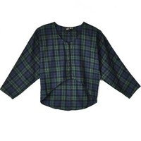 Mary Meyer Plaid Flannel Olivia Blouse