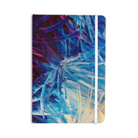 "Ebi Emporium ""Night Flowers"" Blue White Everything Notebook"