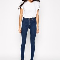 Dr Denim Solitaire High Waist Skinny Jeans at asos.com