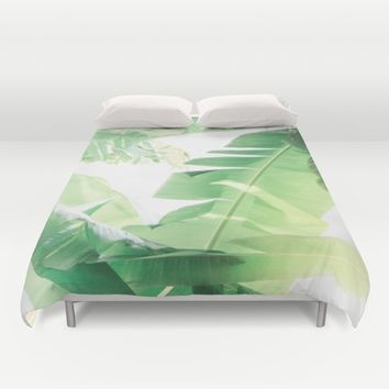 Jungle Abstract II Duvet Cover by The Dreamery | Society6