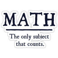 Math The Only Subject That Counts by TheShirtYurt